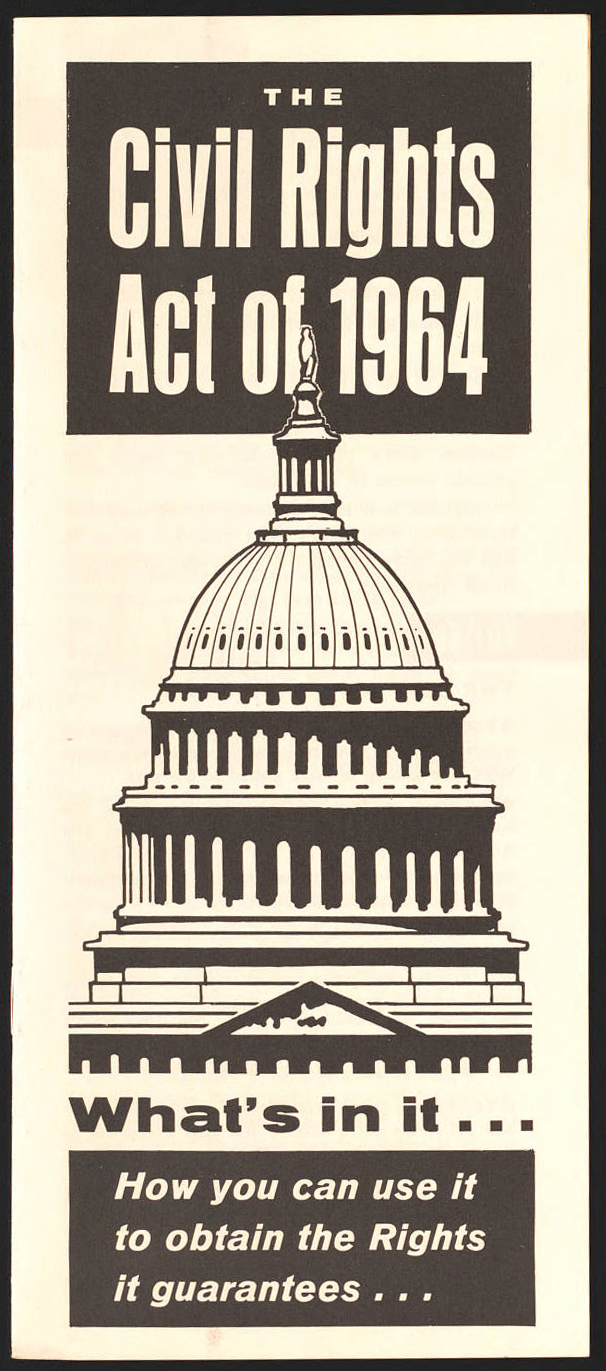 Pamphlet for the Racial Inclusiveness Directives, 1963-1964. Part of the University of Minnesota Libraries, Social Welfare History Archives.